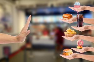 avoid fast foods and junk food