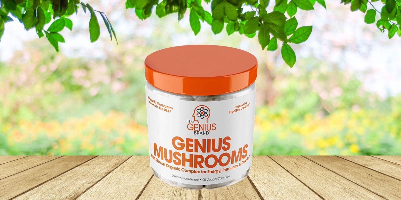 Genius Mushroom Lion's Mane Supplement