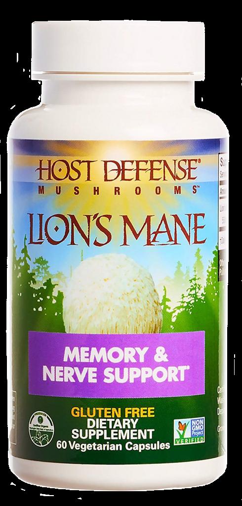 Host Defense Lion's Mane Mushroom Capsules