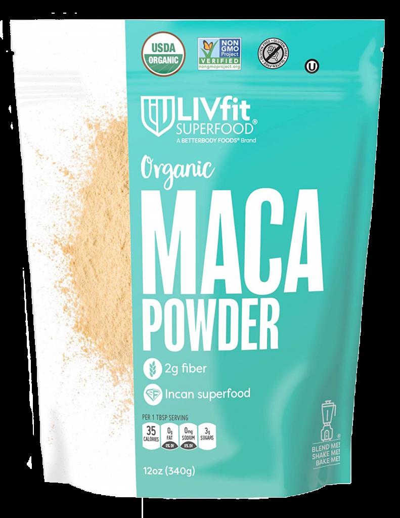 LIVfit Superfood Organic Maca