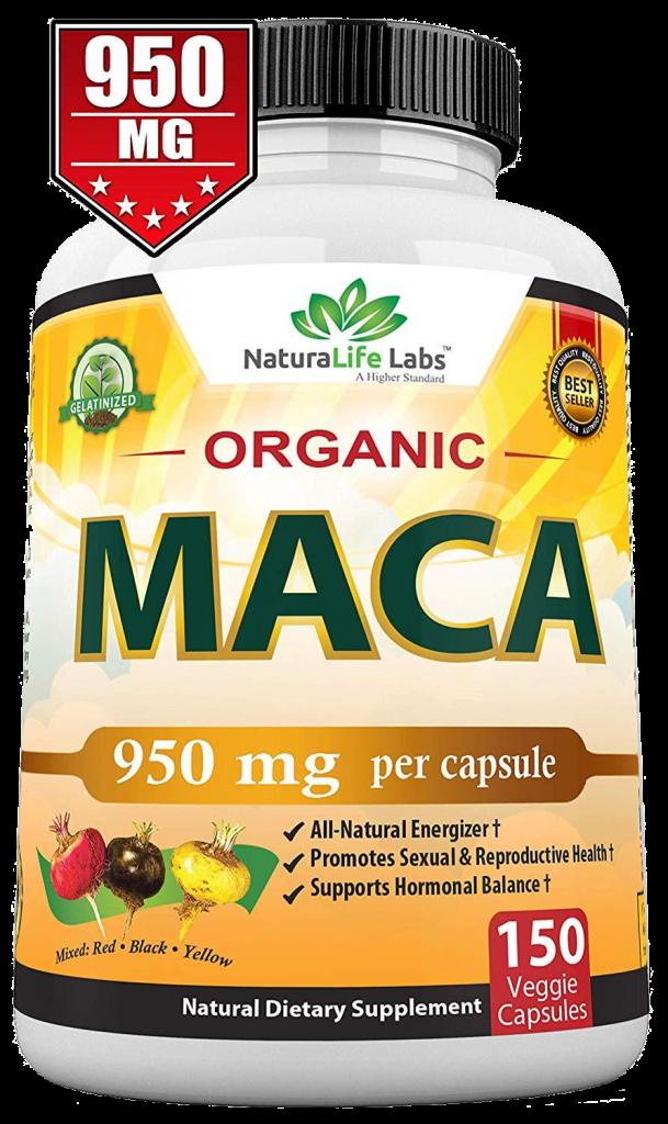 Naturals Life Labs Organic Maca Root