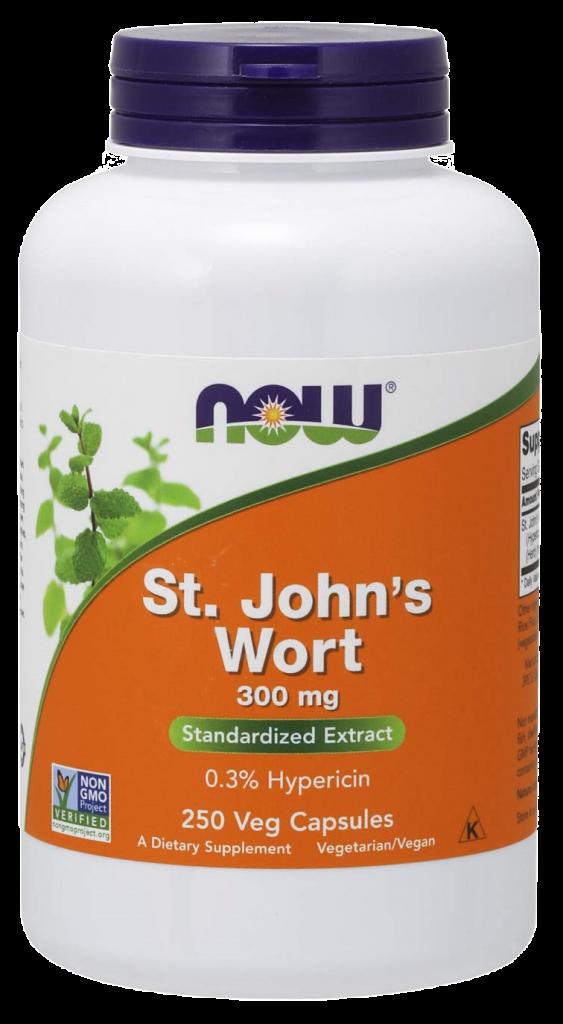 NOW St. John's Wort Capsules
