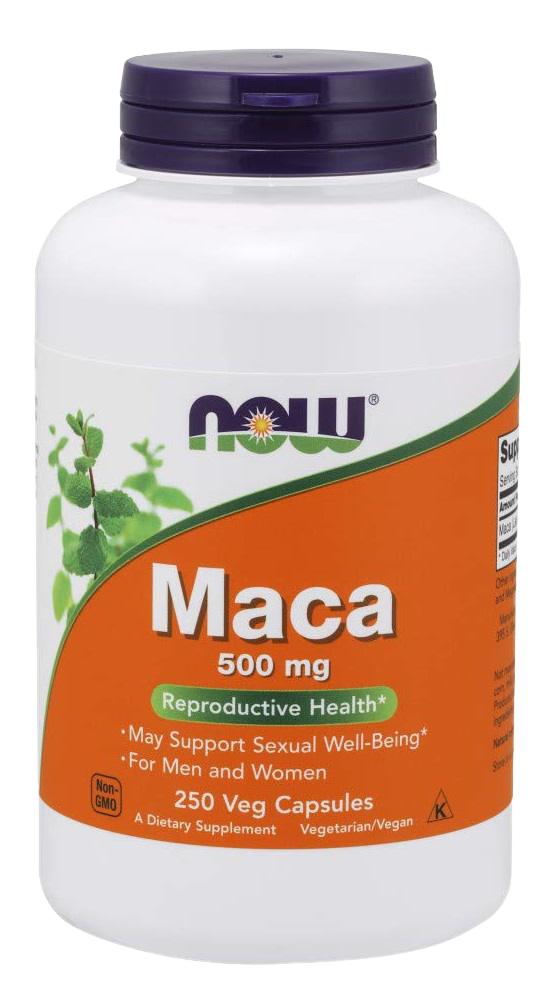 NOW Supplements Maca Root Capsules