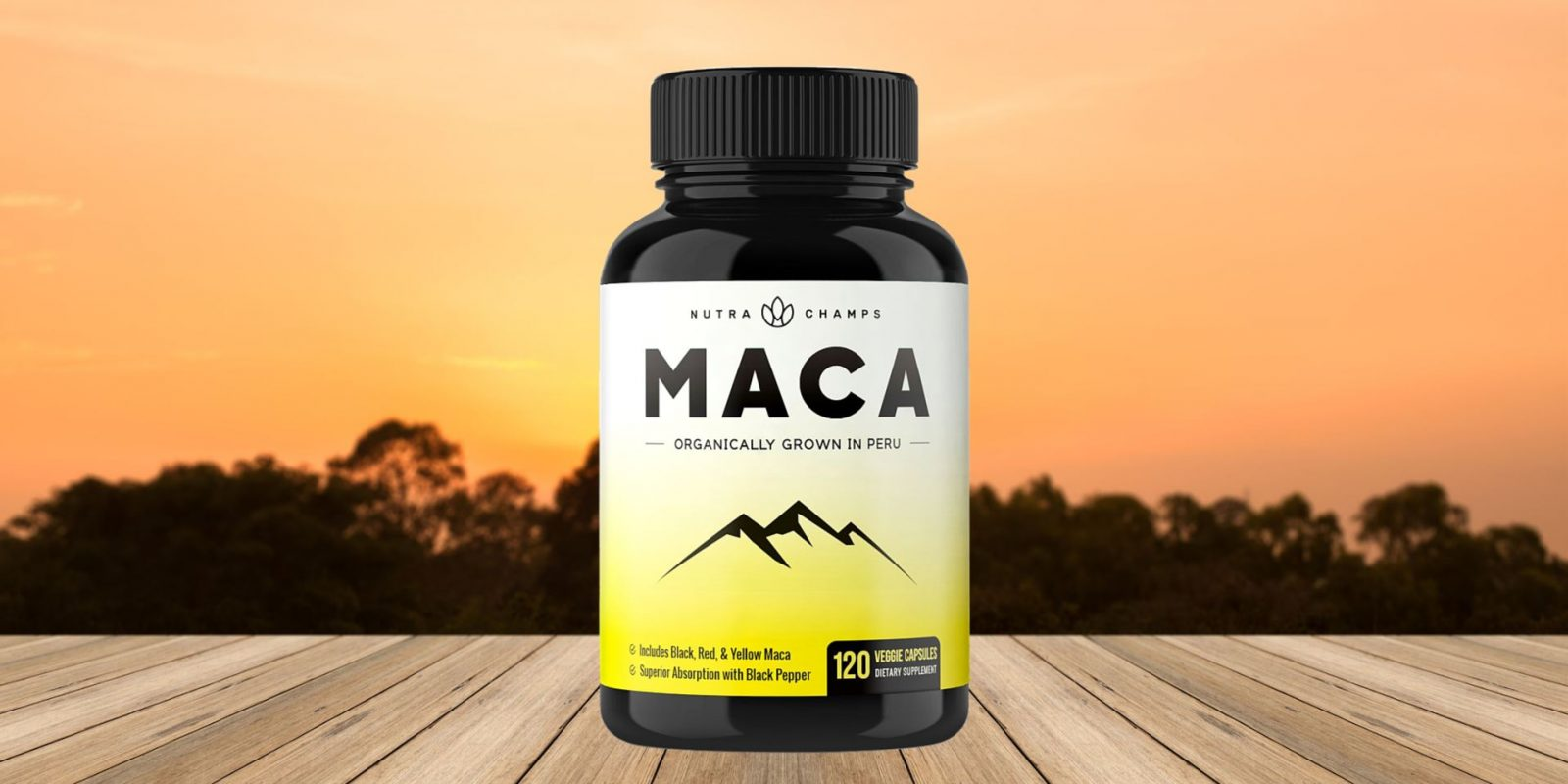 Nutra Champs Organic Maca Root Capsules