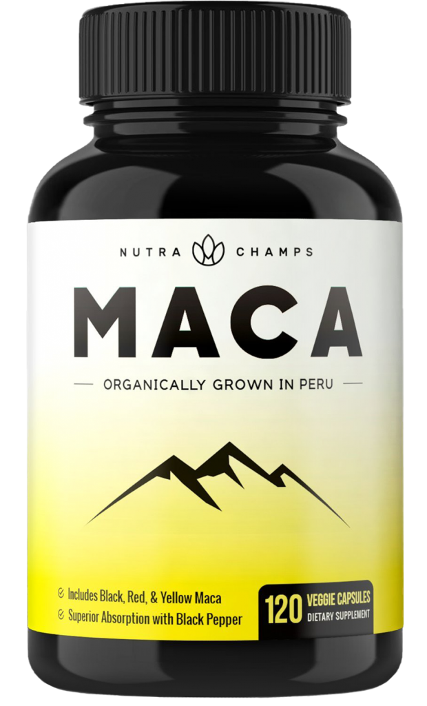 Nutra Champs Organic Maca Root