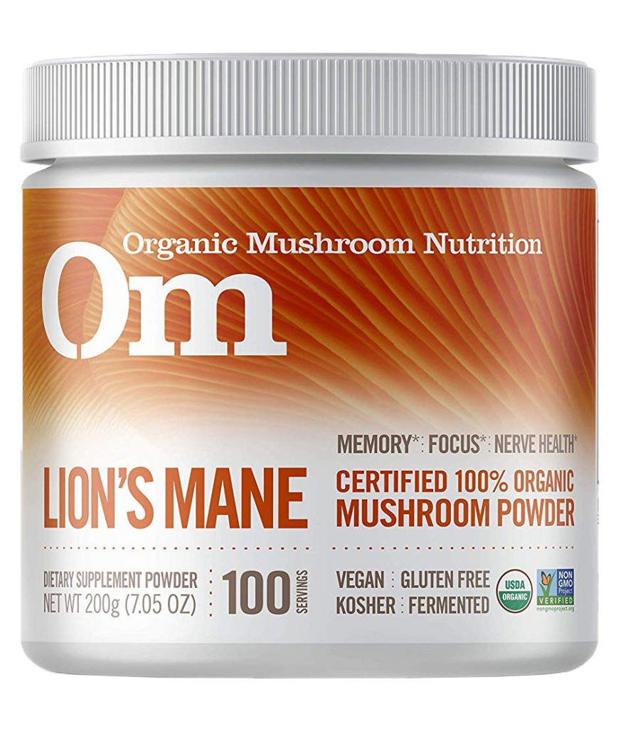 Om Organic Mushroom Nutrition Lion's Mane