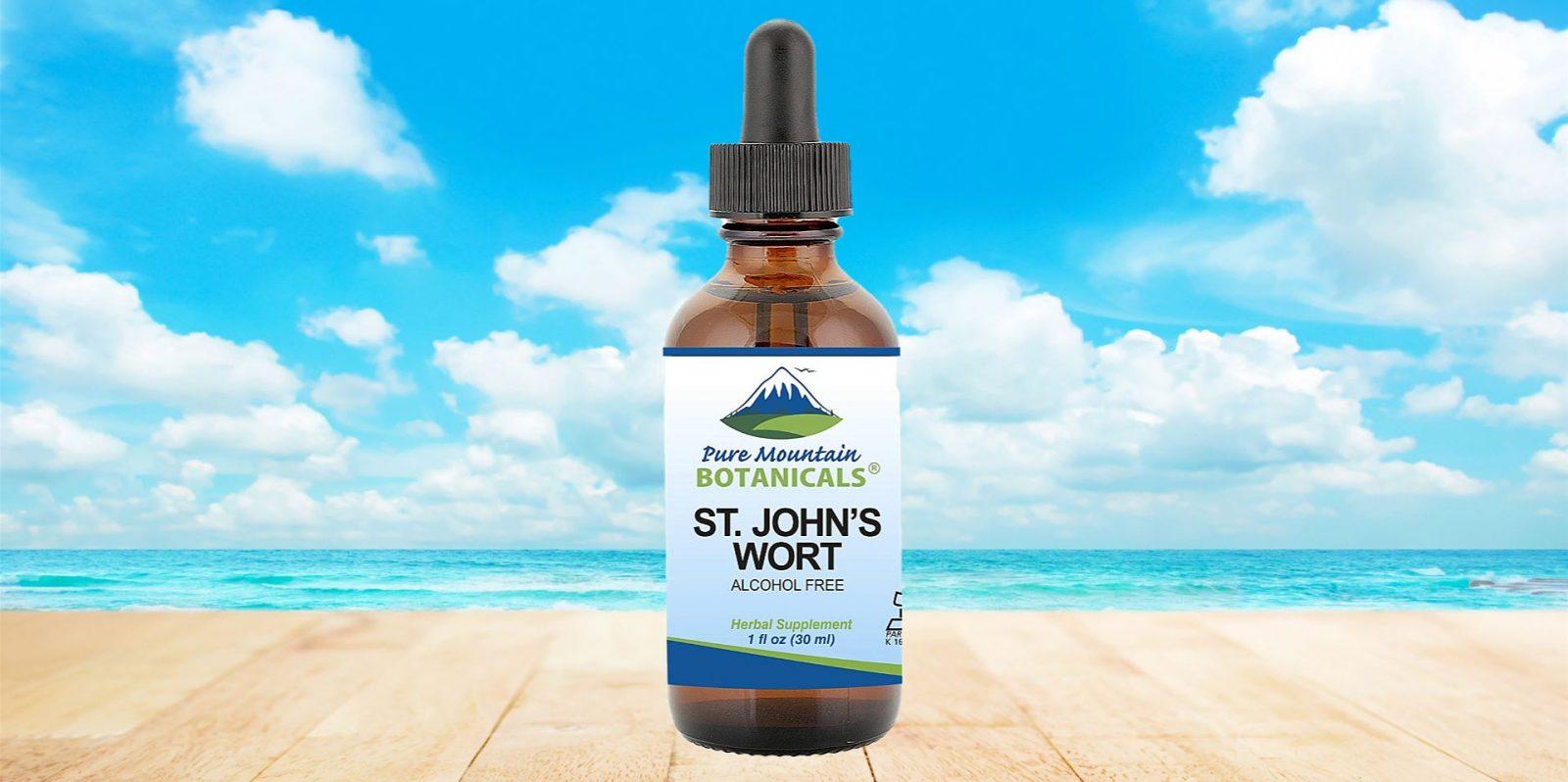 Pure Mountain Botanicals St John's Wort Tincture