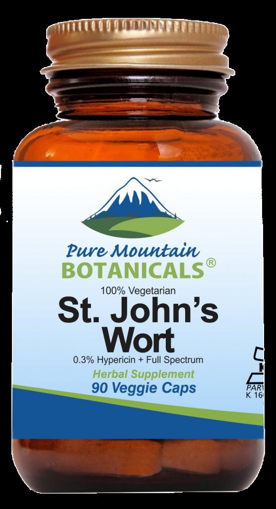 Pure Mountain Botanicals St. John's Wort Capsules