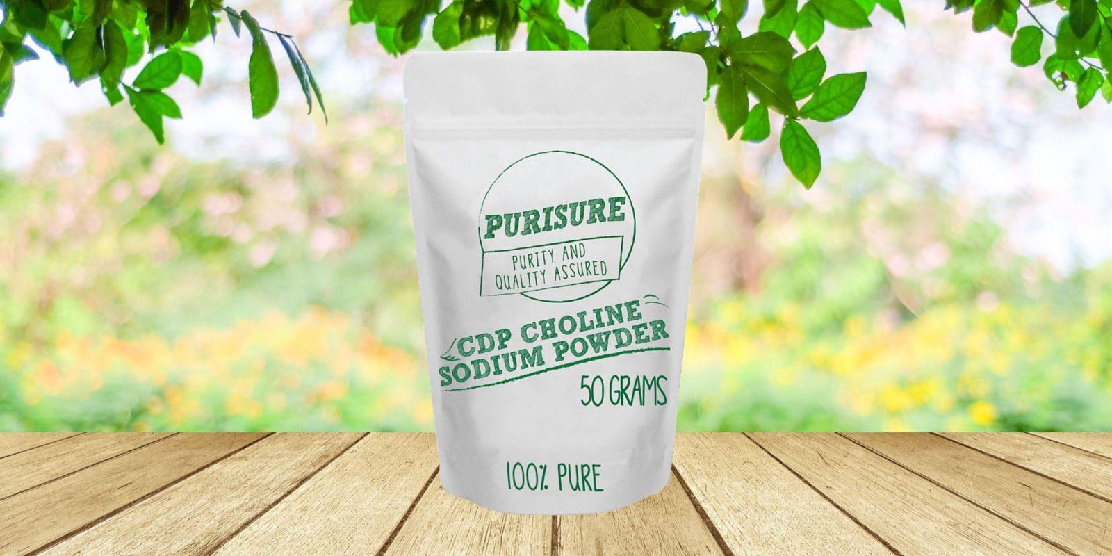 Purisure CDP Choline Powder (Citicoline Sodium)