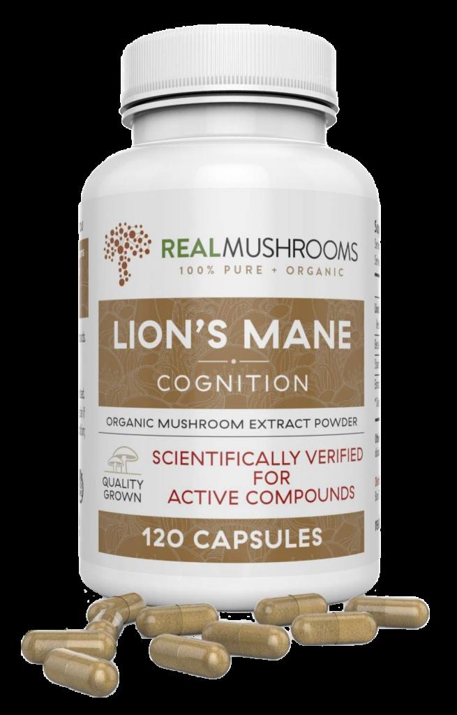 Real Mushroom's Lions Mane Capsules