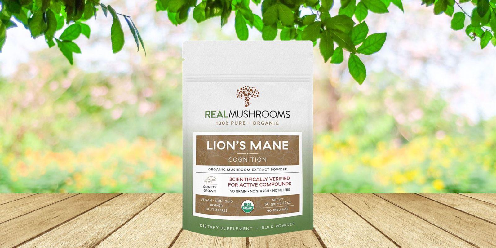Real Mushrooms Lions Mane Mushroom Extract Powder
