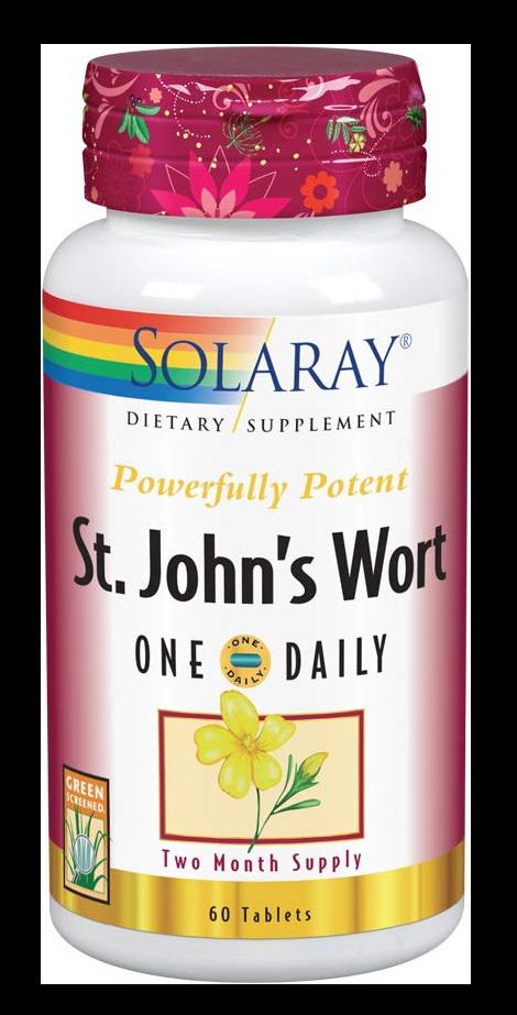 Solaray St. John's Wort Supplement