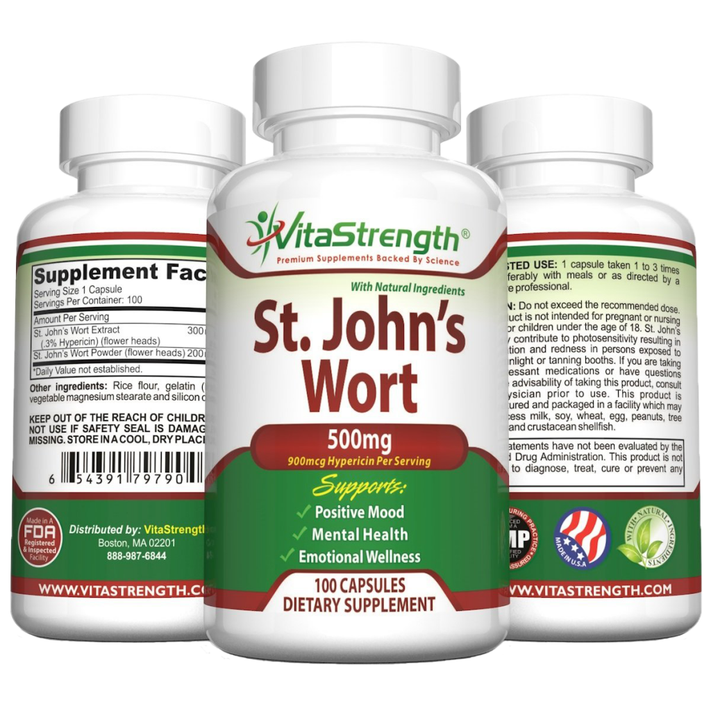 Vita Strength Saint John's Wort Extract