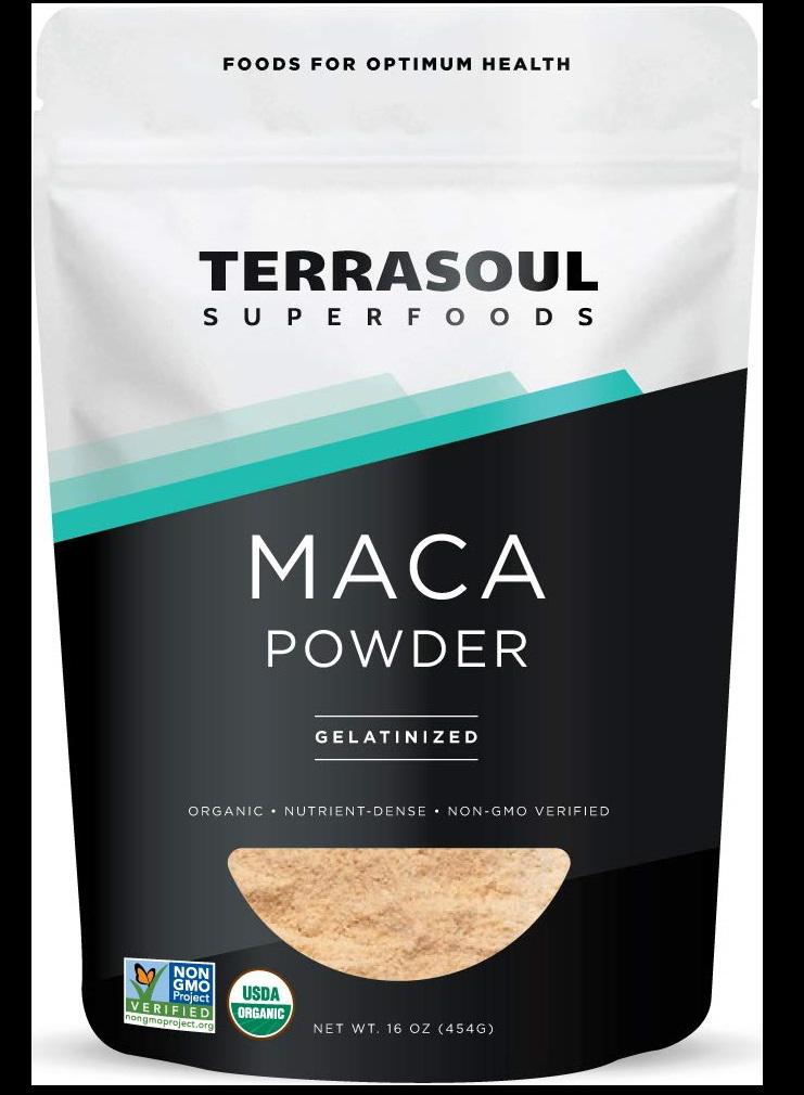Terrasoul Superfoods Organic Gelatinized Maca Powder