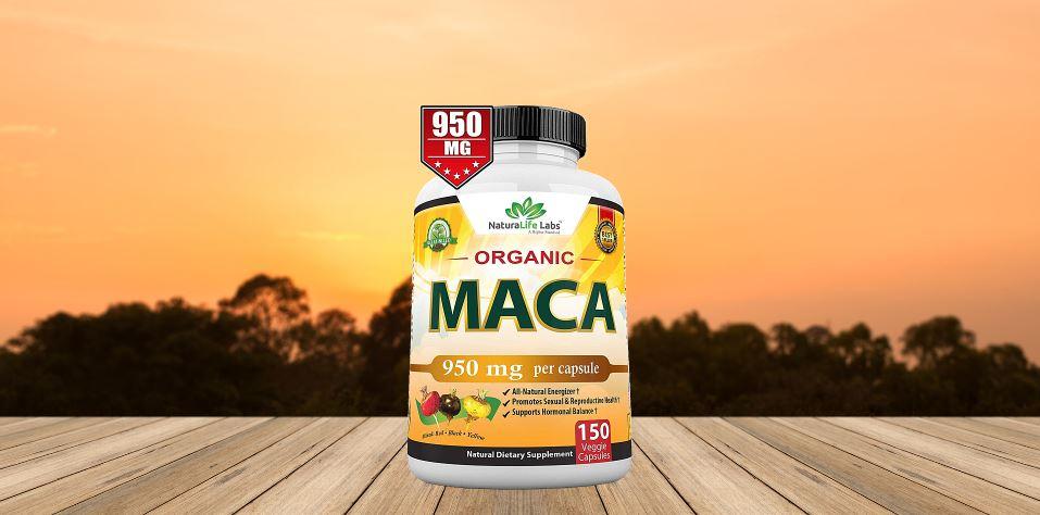 Naturalife labs Organic Maca Root