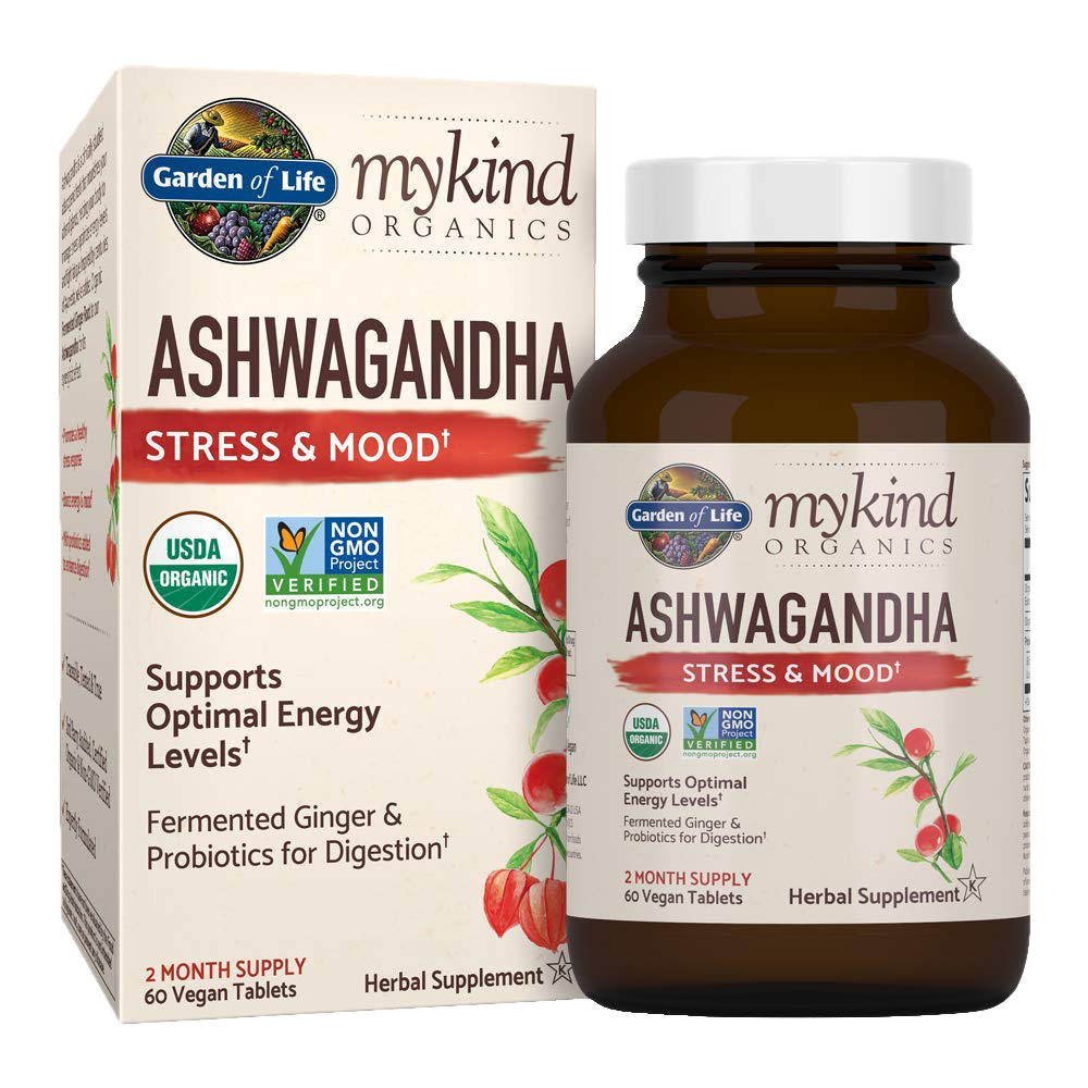 Garden of Life Mykind Organics Ashwagandha