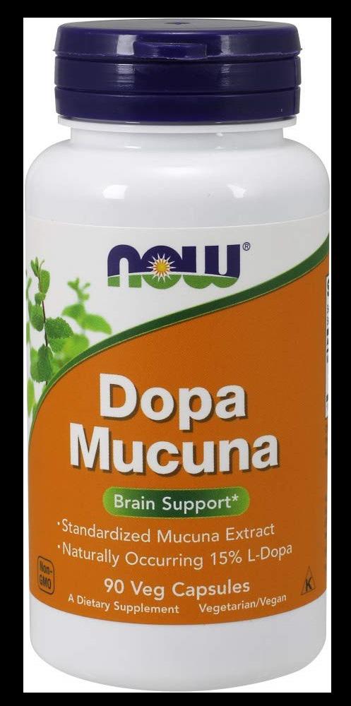 Now Supplements DOPA Mucuna