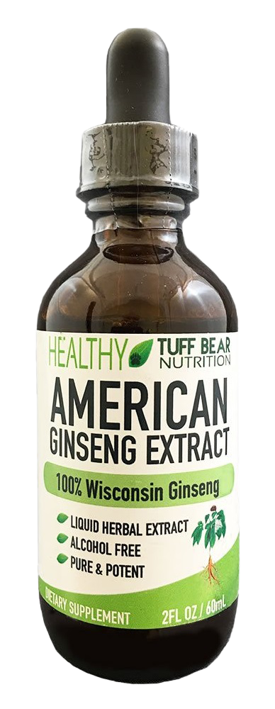 ​Tuff Bear American Ginseng Extract