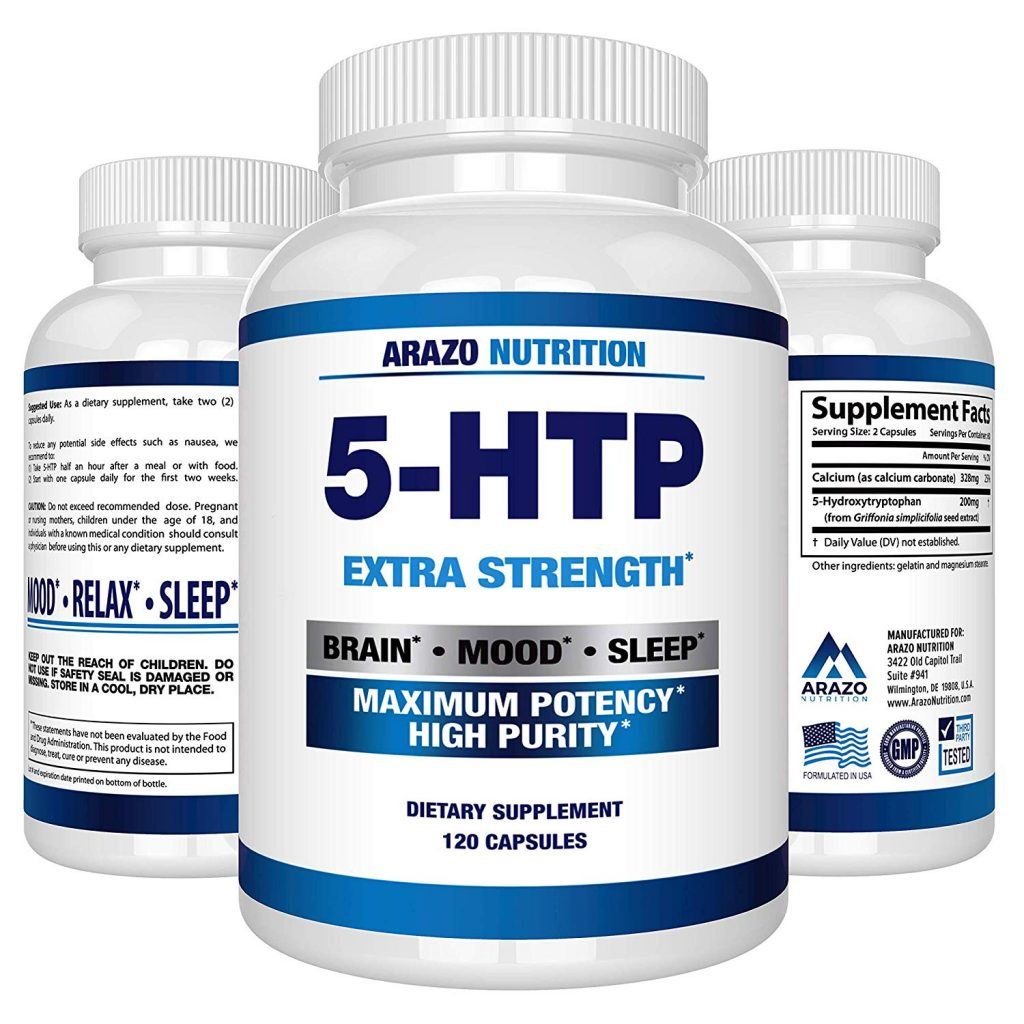 Arazo Nutrition 5-HTP Extra Strength