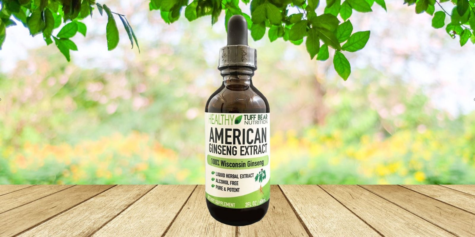 American Ginseng Extract by Tuff Bear