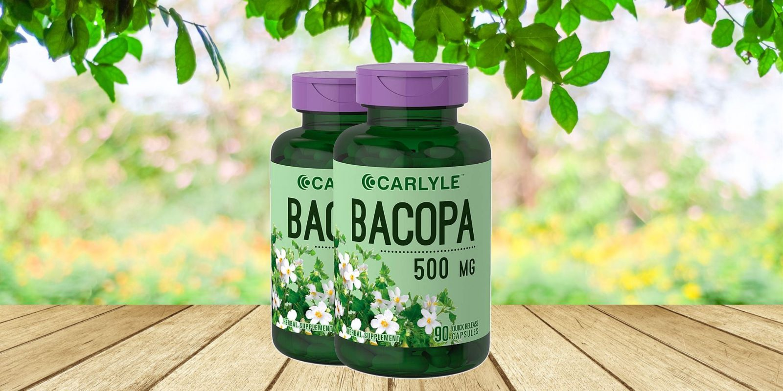 Carlyle Bacopa Monnieri Capsules