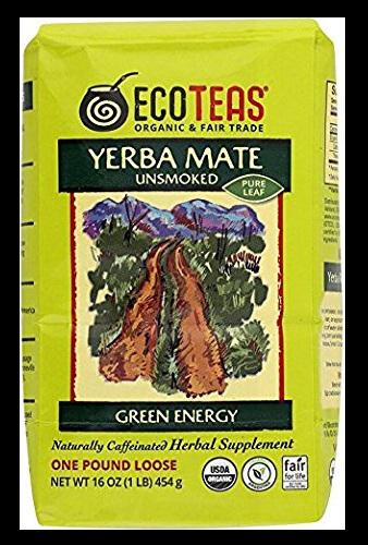 ECOTEAS Organic Unsmoked Yerba Mate Tea