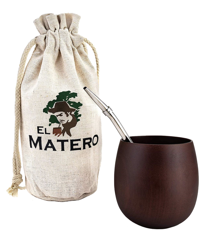 El Matero's All-Natural Jujube Wood Maté Gourd
