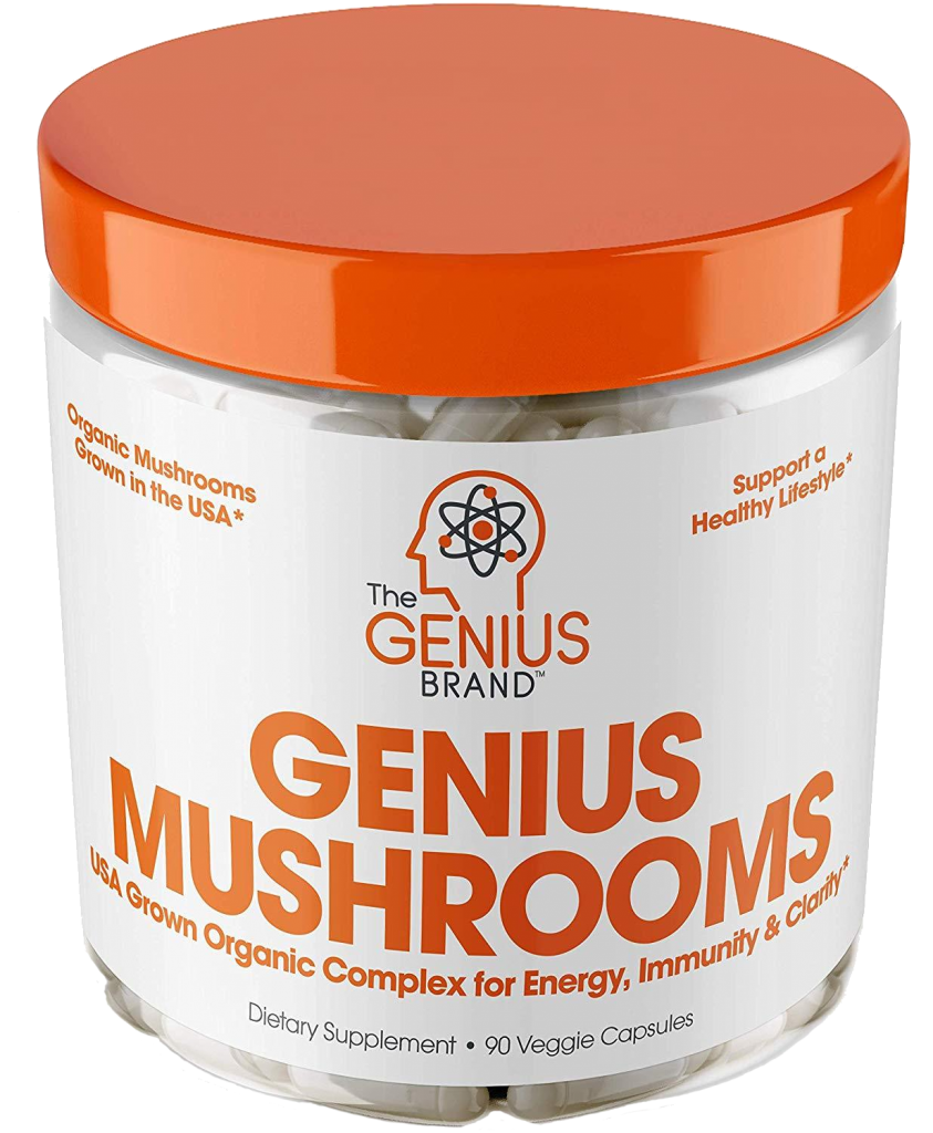 Genius Brand Genius Mushrooms