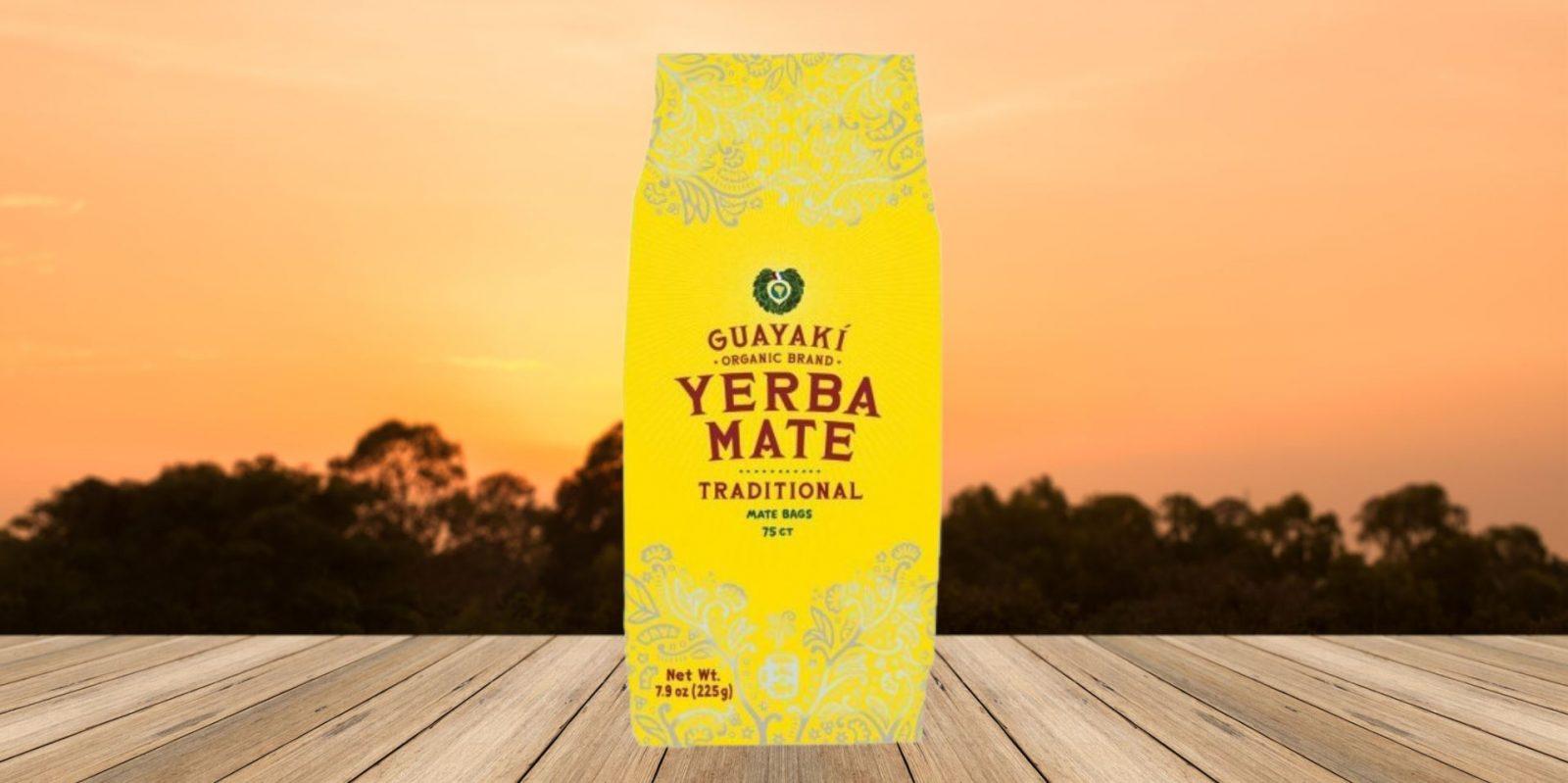 Guayaki Traditional Organic Mate Tea