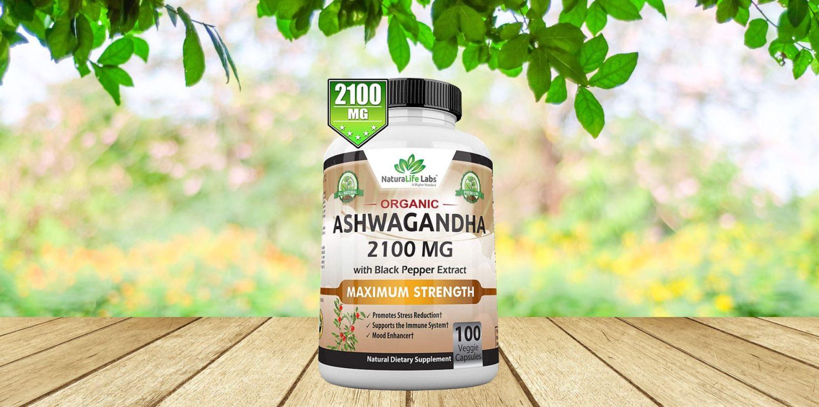 NaturaLife Labs Organic Ashwagandha