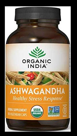 Organic India Ashwagandha Capsules