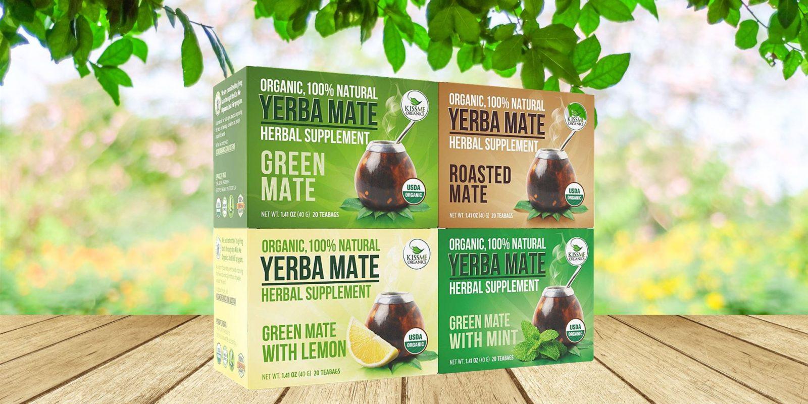 Organic Yerba Mate Tea Bags