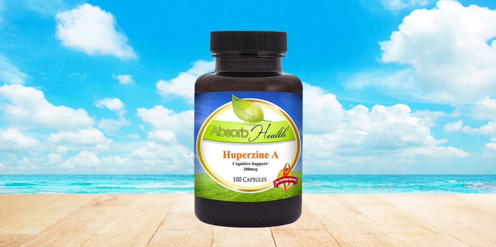 Absorb Health Huperzine A Capsules