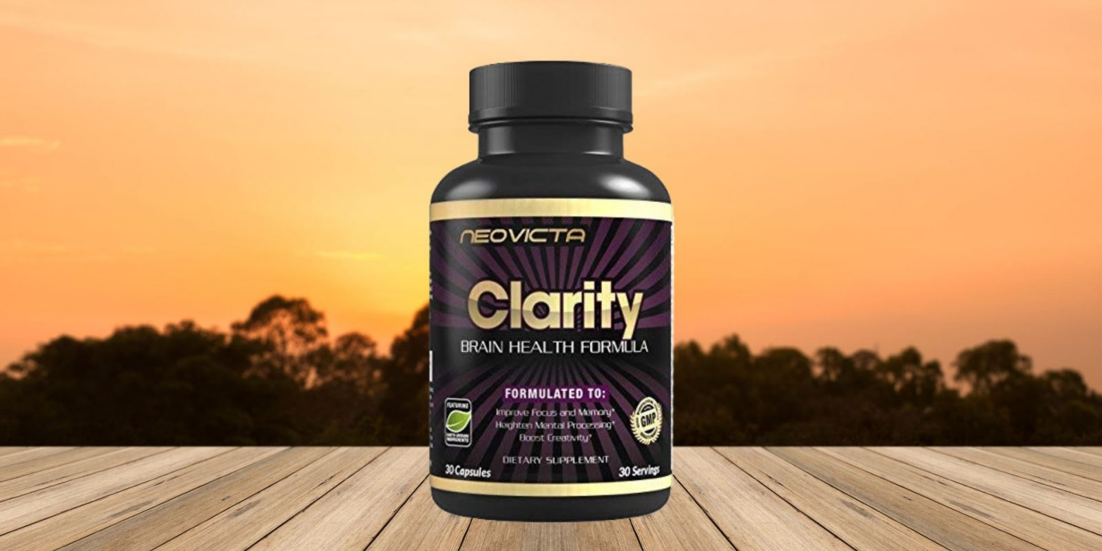Clarity Brain Supplement Nootropic by Neovicta