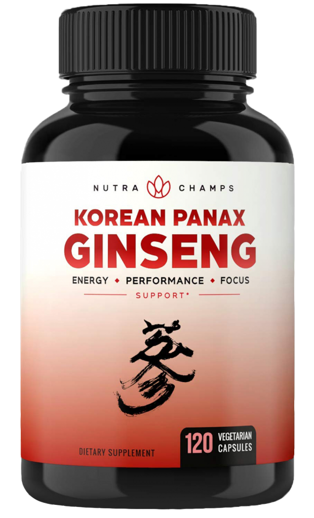 Korean Red Panax Ginseng by NutraChamps