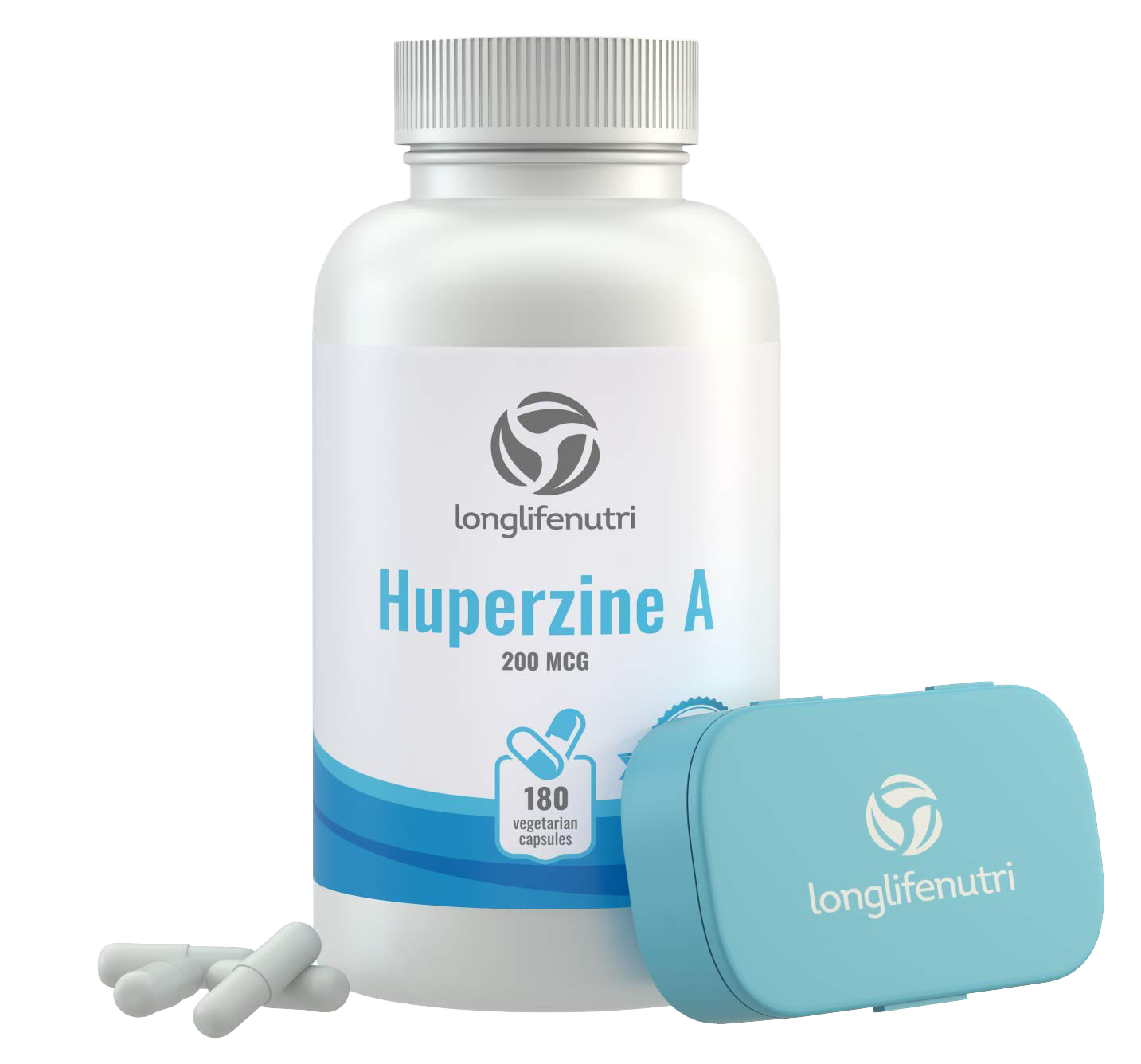 Huperzine A 200 mcg supplement by LongLifeNutri