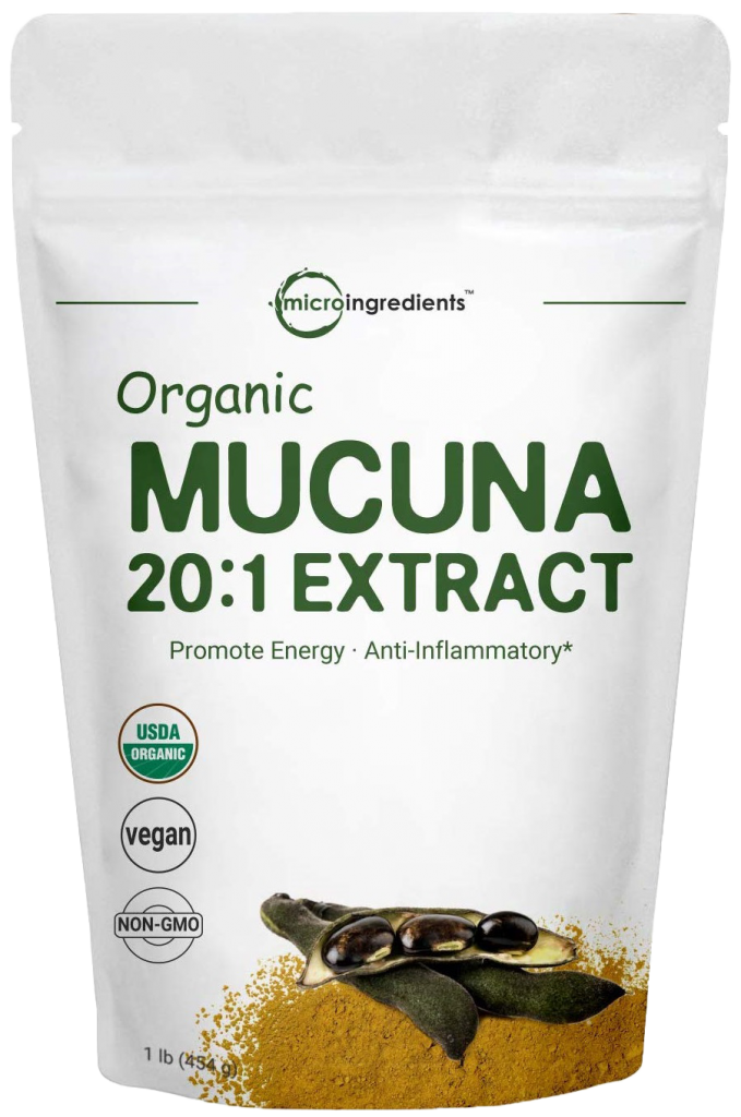 Micro Ingredients Organic Mucuna Pruriens Extract Powder