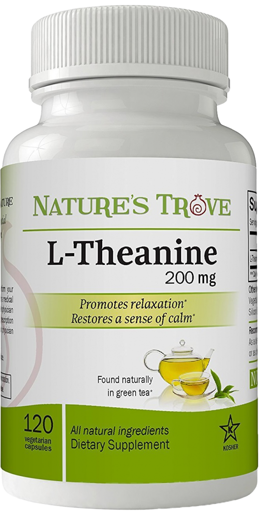 Nature's Trove L-Theanine 200mg