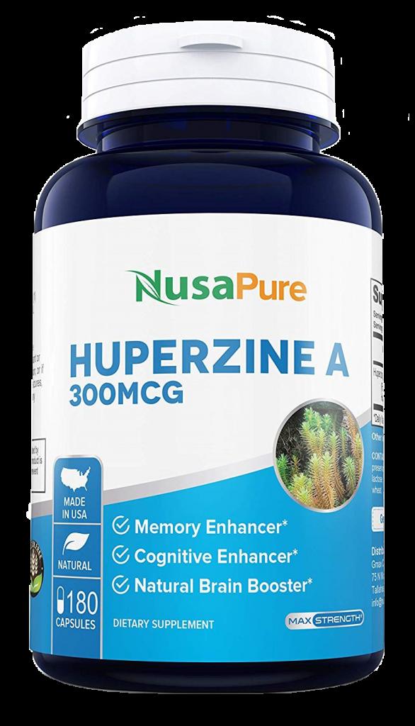 NusaPure Huperzine A 300mcg capsules