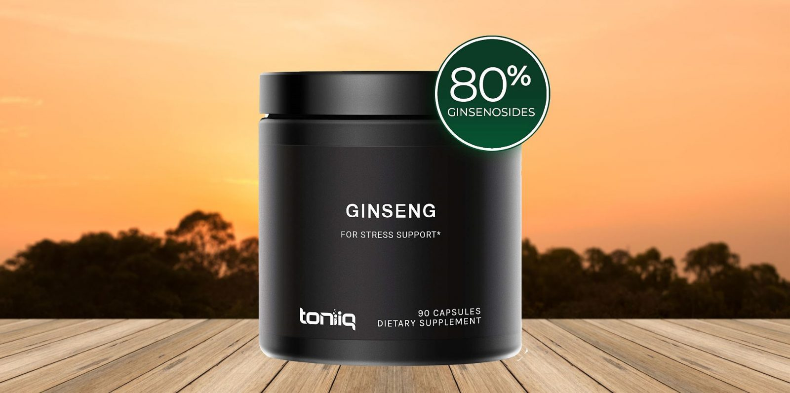 Toniiq Panax Ginseng Extract Capsules