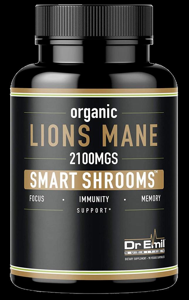 Dr. Emil Nutrition Organic Lions Mane Mushroom