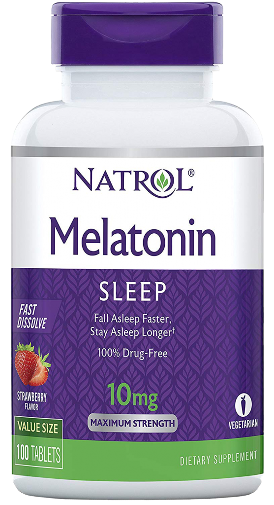 Natrol Melatonin Fast-Dissolving Tablets