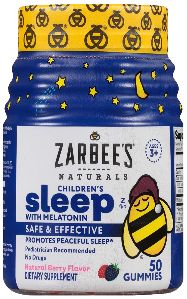 Zarbee's Naturals Children's Sleep with Melatonin Gummies https://amzn.to/36Xh01g