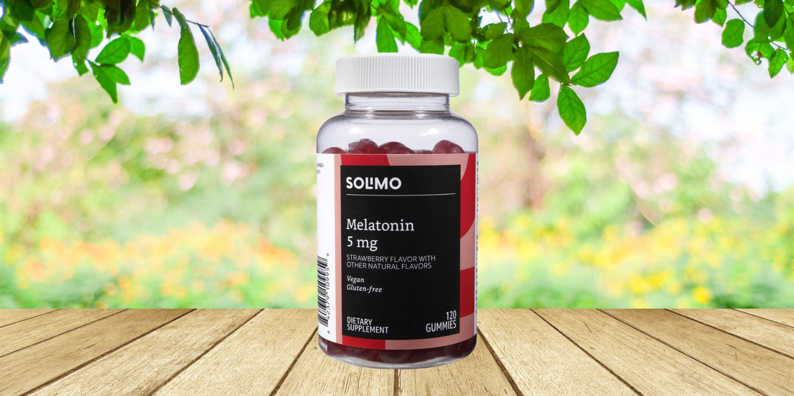 Solimo Melatonin Gummies